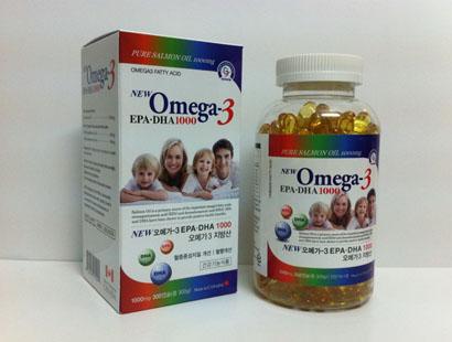 Dầu cá Omega 3 - Bổ sung DHA và EPA - Canada