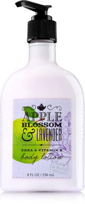 Dưỡng thể bath n body work apple blossom lavender