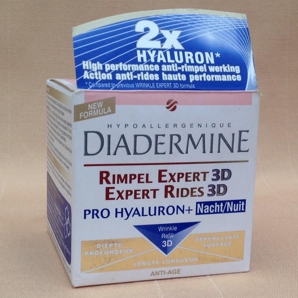 Kem dưỡng chống nhăn ban đêm Diadermine Expert Rides 3D