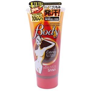 Kem massage tan mỡ bụng Esteny Body Hot Massage Gel - Nhật Bản