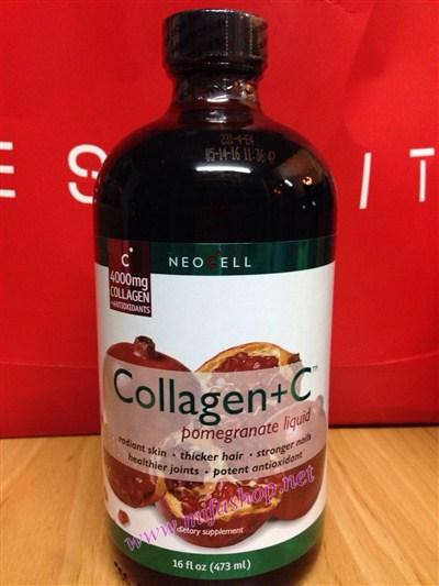 Nước uống collagen +C Neocell chiết xuất từ quả lựu