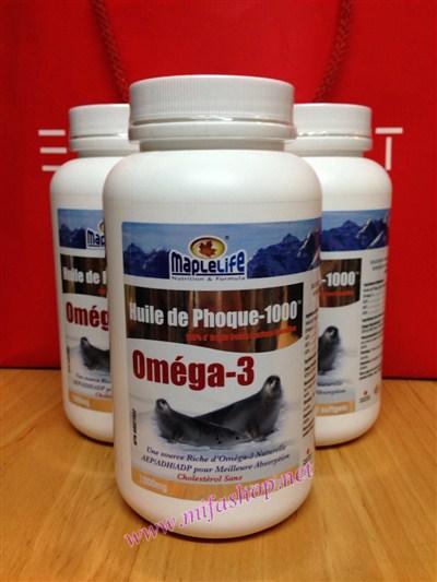 Omega 3 Tinh dầu Hải Cẩu Harp Seal Oil MapleLife 10000mg 120 viên