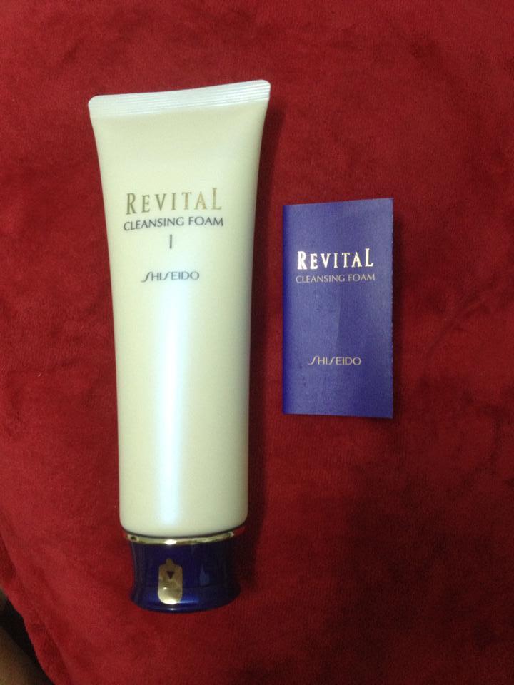 sữa rửa mặt shiseido revital