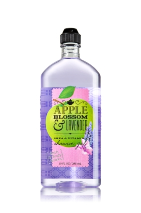 Sữa tắm bath n body work apple blossom lavender