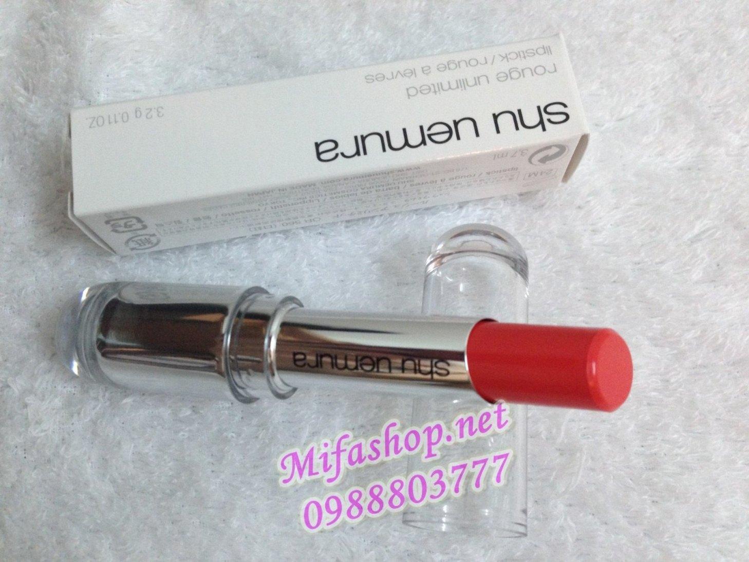 Son môi Shu Uemura 560