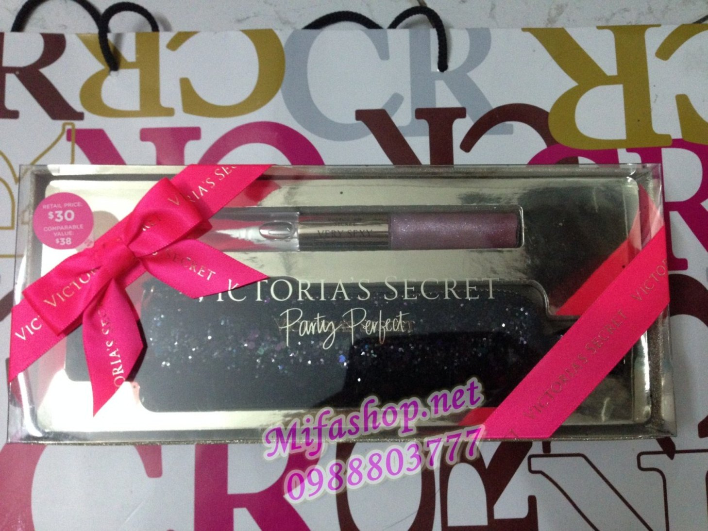 Set quà tặng Victoria's Secret Party Perfect