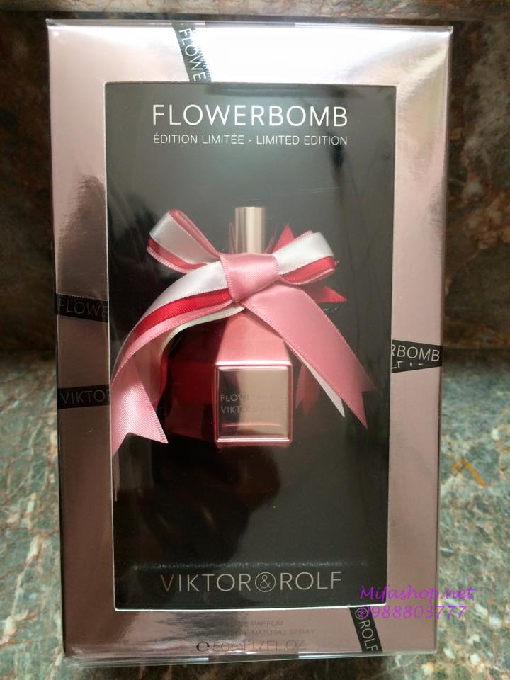 nuoc hoa viktor & rolf bom limited edition