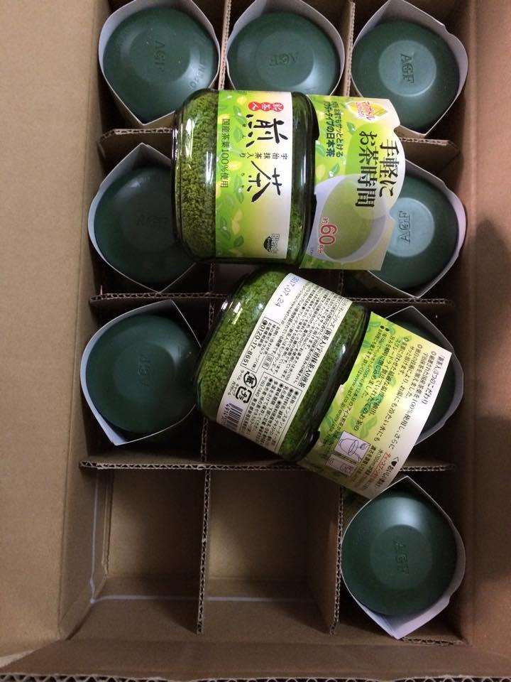bột trà xanh matcha nguyên chất Nhật
