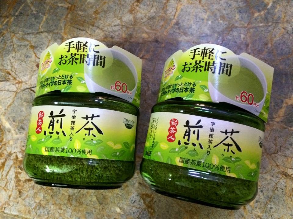 bột trà xanh nguyên chất NhậT