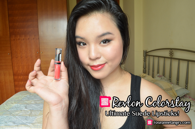 Son môi Revlon ColorStay Ultimate Suede 090
