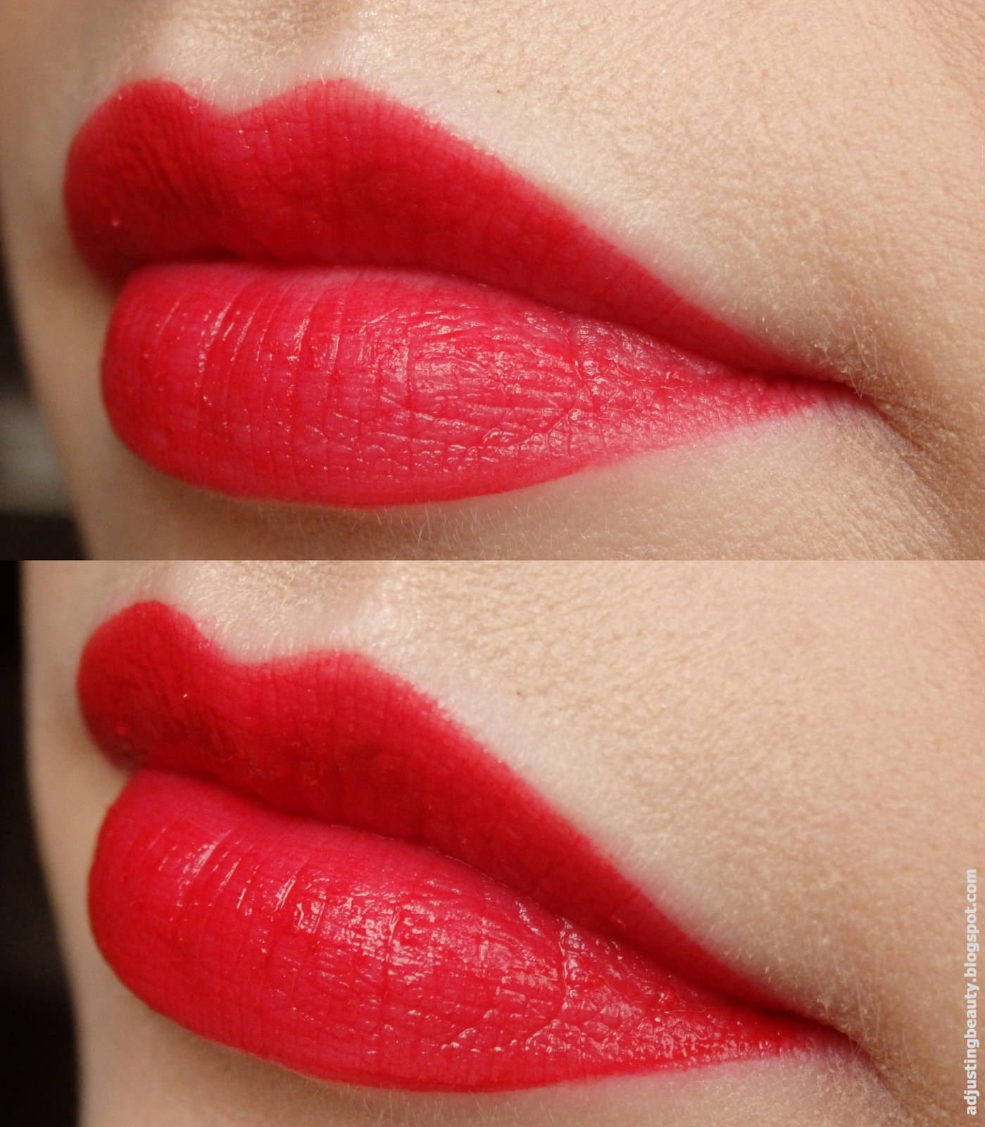 Son Bourjois Rouge Edition Velvet  01 - personne ne rouge swatch