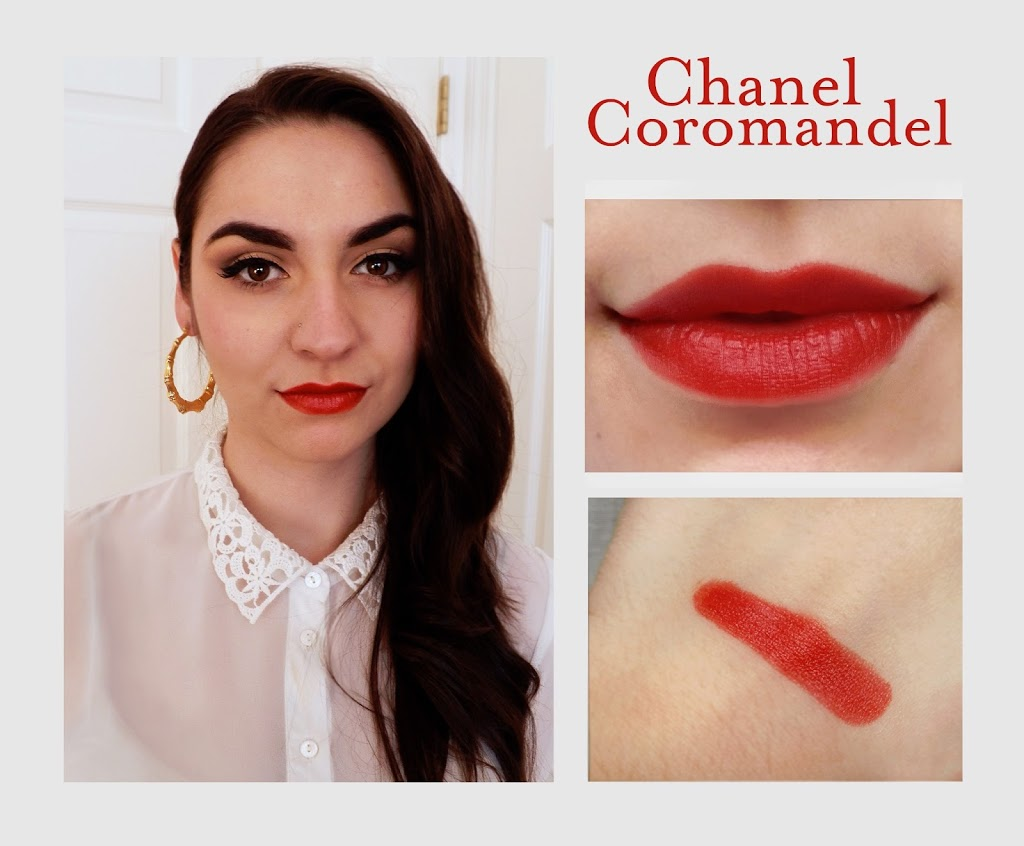 Son chanel rouge allure 98 COROMANDEL swatch