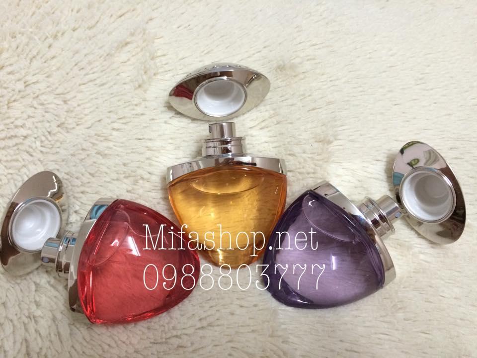Bộ sưu tập nước hoa Bvlgari Omnia Jewel Charms 3 chai 15ml