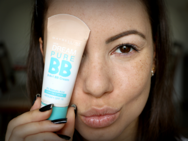Kem nền trị mụn BB Cream Maybelline Dream Pure review 5