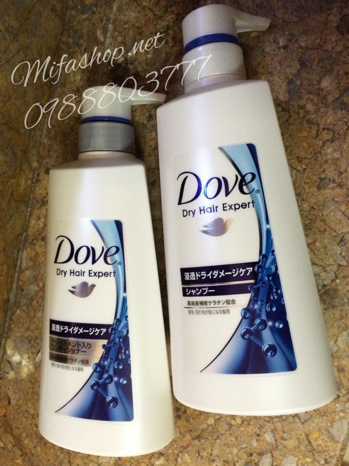Bộ đầu gội Dove Nhật 2