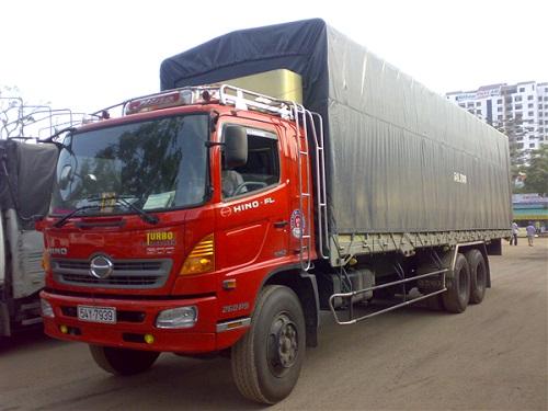 cho thuê xe tải ở Kiến Xương Thái Bình