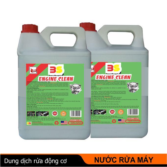 nước tẩy rửa động cơ, dung dịch nước rửa máy, tẩy rửa máy động cơ ô tô