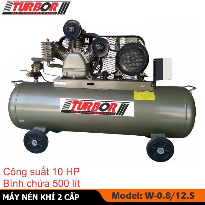 Máy nén khí, máy bơm hơi 10 HP-500 lít, máy nén hơi, Bình khí nén, Bình tích áp, Bình hơi, Bình nén khí