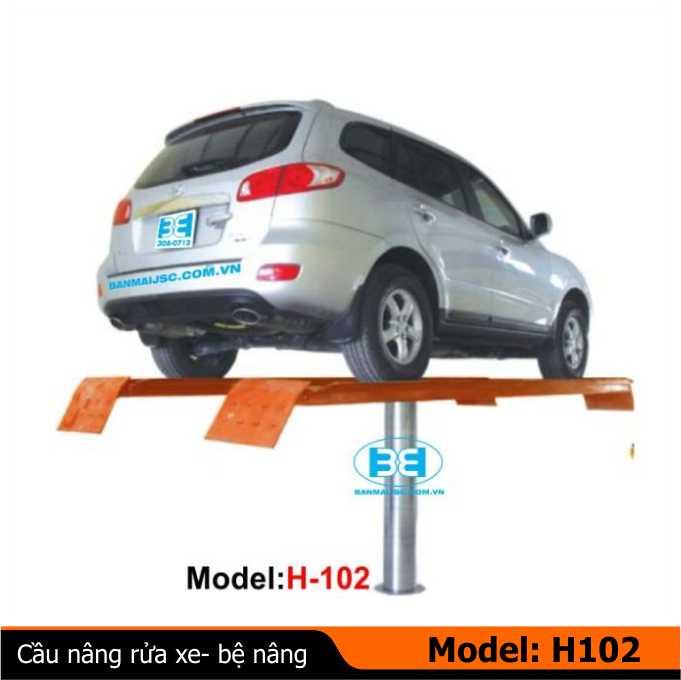Cầu nâng một trụ, Cau nang rua xe 1 tru, ben nang rua xe oto, ban nang rua xe oto 1 tru, lắp đặt cầu nâng 1 trụ
