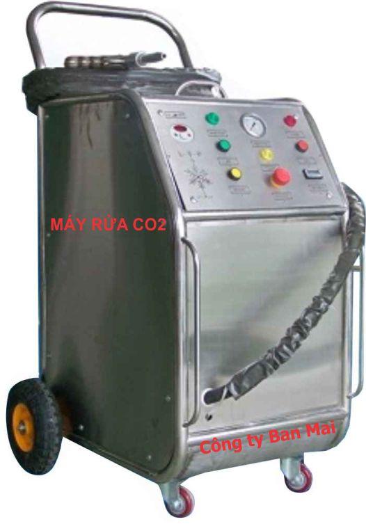 máy rửa co2, máy bắn đá khô co2, rửa máy co2, rửa động cơ co2, thiết bị rửa máy bằng co2