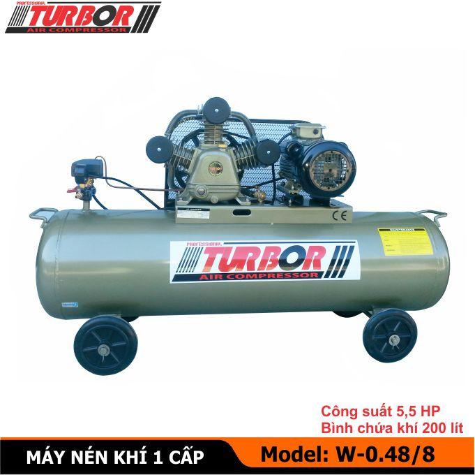 Máy nén khí, máy bơm hơi 4 KW, máy nén hơi 5,5 HP, Bình khí nén, Bình tích áp, Bình hơi, Bình nén khí