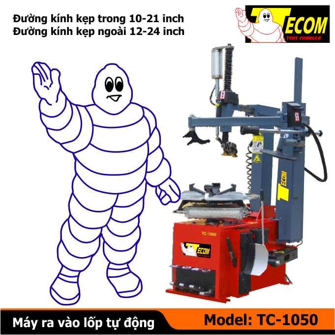 máy tháo vỏ tự động TC1050, máy ra vỏ tự động, máy ra vào lốp tự động, máy làm lốp tự động