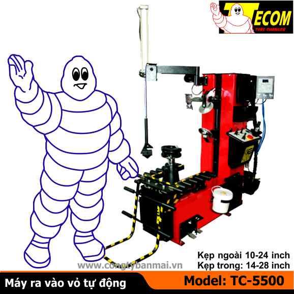 máy ra vào lốp tự động, máy ra vào lốp, máy tháo vỏ, máy làm lốp
