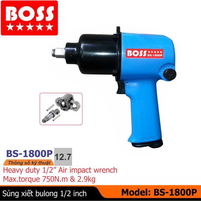Súng vặn bu lông BS-1800P, súng xiết bu lông, dụng cụ khí nén