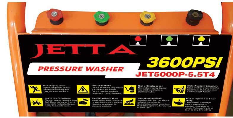 Máy xịt rửa xe ô tô cao áp JETTA
