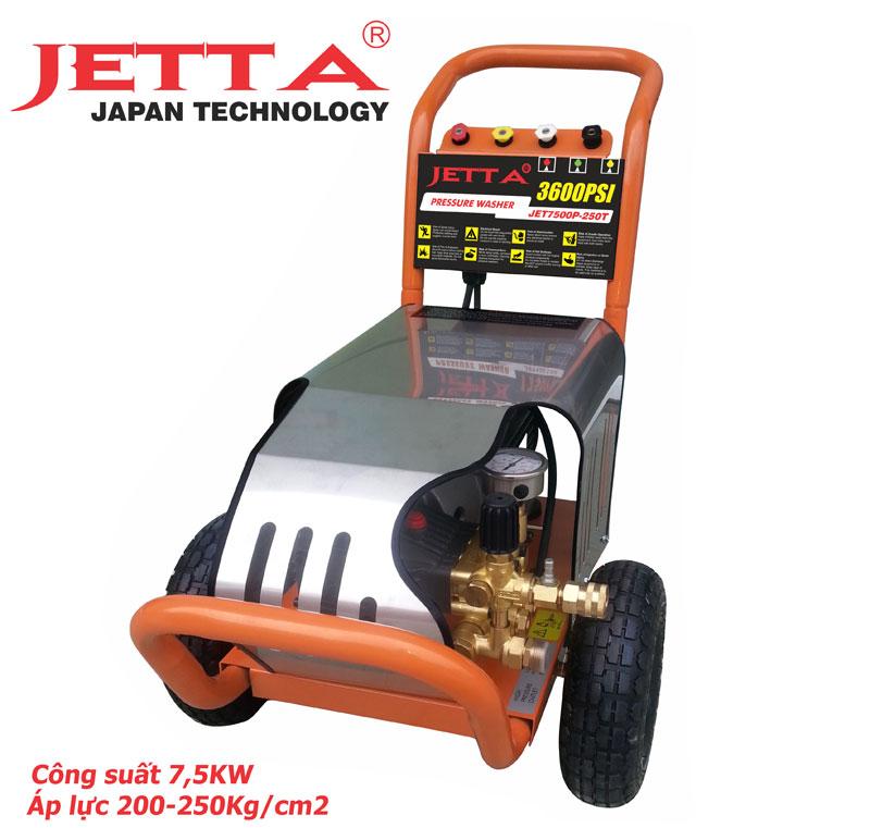 máy rửa xe cao áp 7,5 KW, Máy bơm rửa xe  7,5KW JETTA, máy phun áp lực 7,5KW, máy bơm áp lực 7,5KW