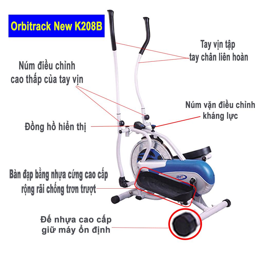 Giảm cân cùng xe đạp tập thể dục Orbitrack K208B