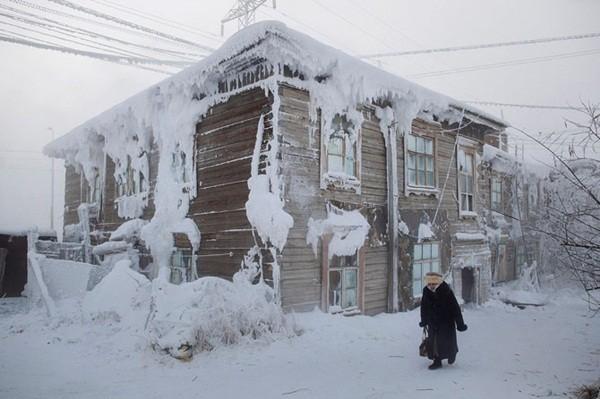 Những hình ảnh ấn tượng tại thành phố lạnh nhất thế giới 2