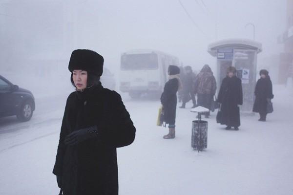 Những hình ảnh ấn tượng tại thành phố lạnh nhất thế giới 4