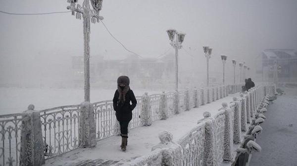 Những hình ảnh ấn tượng tại thành phố lạnh nhất thế giới 10