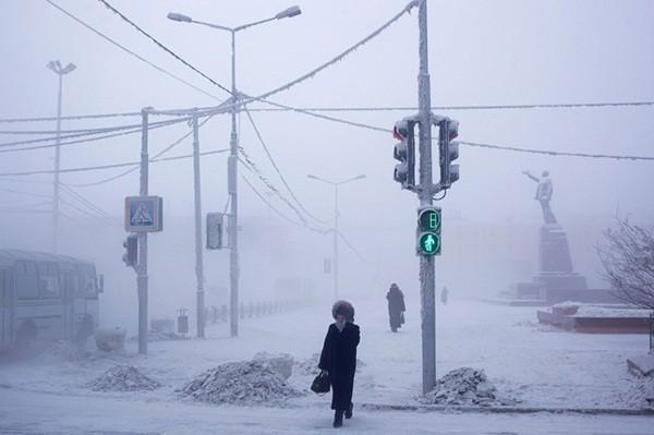 Những hình ảnh ấn tượng tại thành phố lạnh nhất thế giới 9