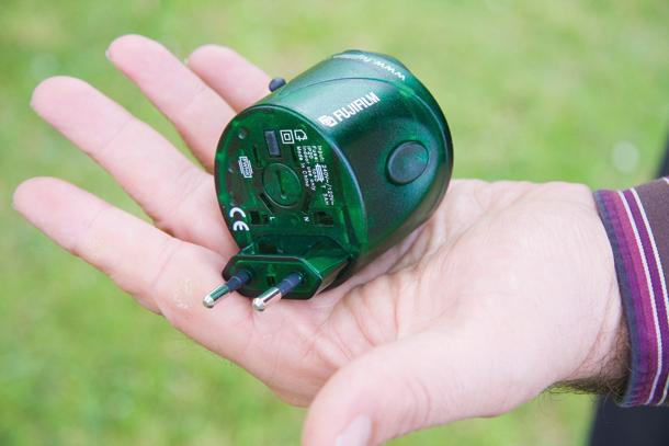 8 essential travel photography accessories - international plug adatper