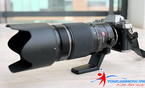 Ống kính 50-140 mm f2.8 cho máy mirrorless của Fujifilm