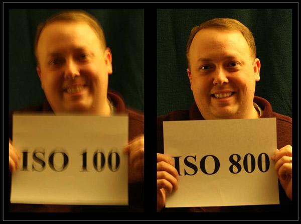 cách chỉnh ISO