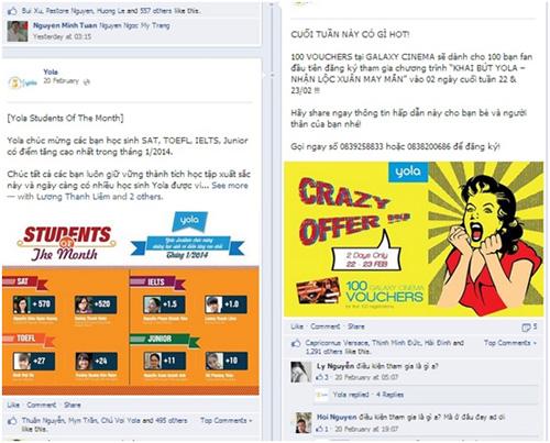Thương hiệu và facebook