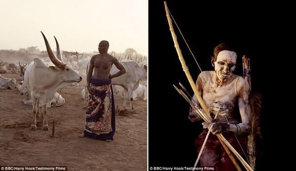 Bức tranh đời sống chân thực của các bộ tộc du mục châu Phi 3