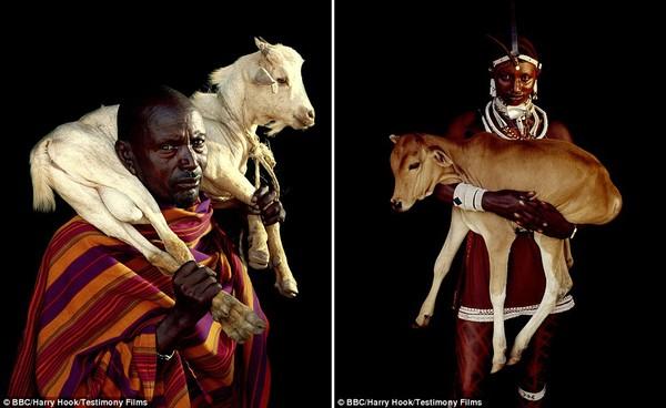 Bức tranh đời sống chân thực của các bộ tộc du mục châu Phi 4