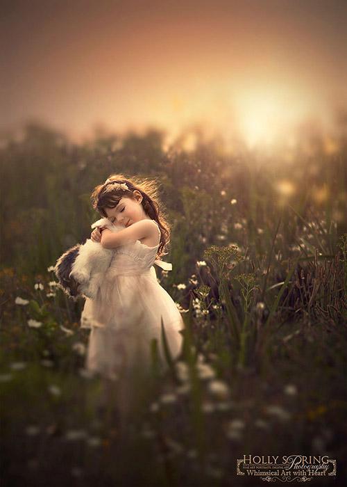 Bé gái một tay xinh đẹp qua lăng kính người mẹ - 3