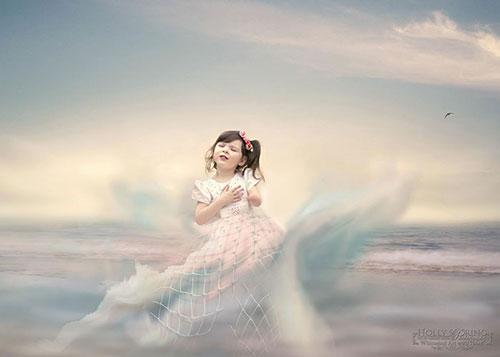 Bé gái một tay xinh đẹp qua lăng kính người mẹ - 8