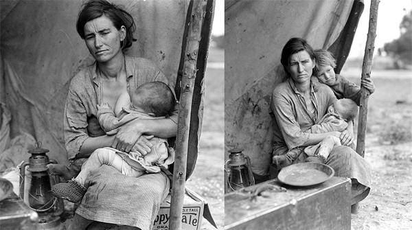Người mẹ di cư và khoảnh khắc tình cờ của một bức ảnh huyền thoại 3