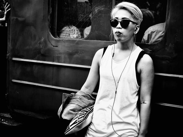 Những tấm ảnh đen trắng đầy cảm xúc về người dân Tokyo 2