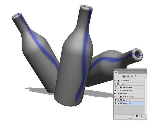 3D layer