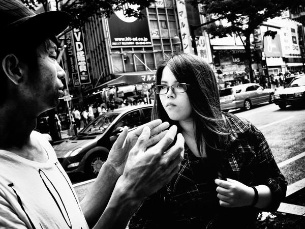 Những tấm ảnh đen trắng đầy cảm xúc về người dân Tokyo 7