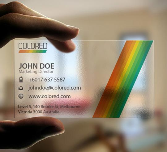business design business card