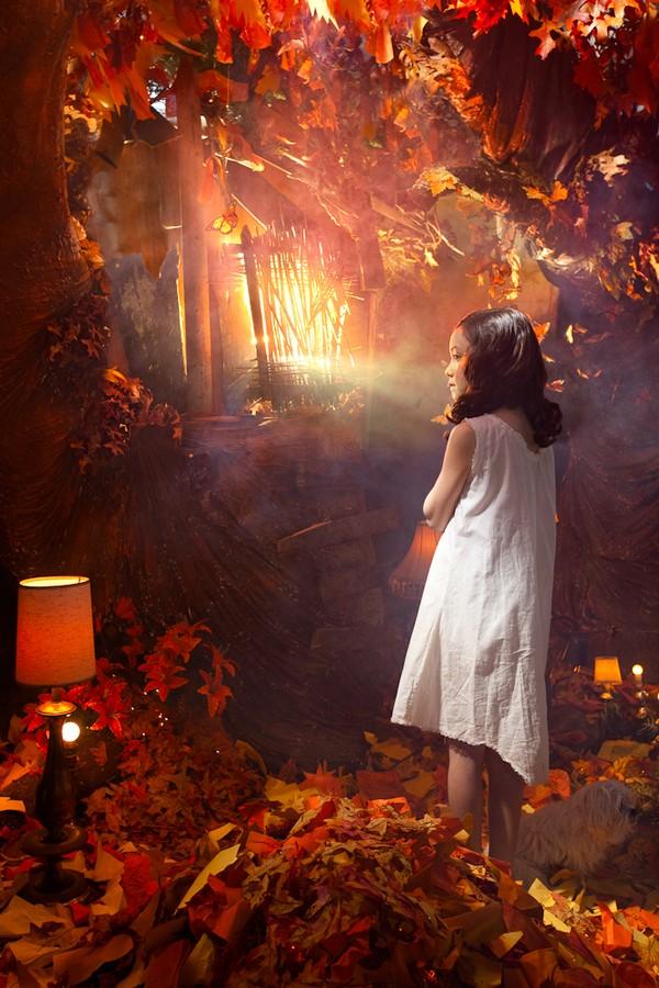 Cuộc phiêu lưu của cô gái nhỏ trong thế giới màu cam rực rỡ 3