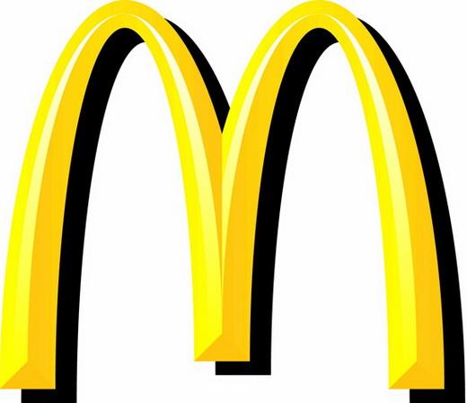 vai tro logo chien luoc thuong hieu,thiet ke logo,logo dep,logo McDonald's